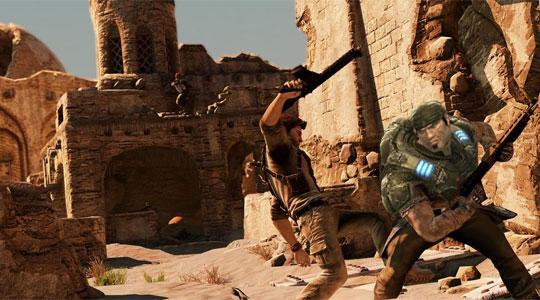 Uncharted vs Gears of War